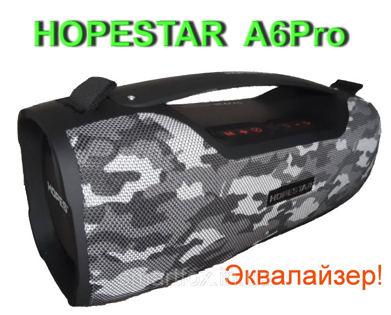 Портативная колонка Bluetooth Hopestar A6Pro