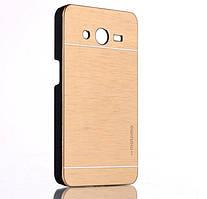 Чехол для Samsung Galaxy Core 2 G355 motomo металлический