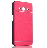 Чехол для Samsung Galaxy Core 2 G355 motomo металлический, фото 1