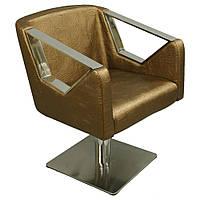 Кресло клиента для салона красоты на гидравлике Парикмахерское кресло А006