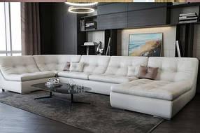 Диван П-образный дизайнерский под заказ Элегия-17 (Мебель-Плюс TM)
