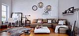 Люстра дерев'яна СОНЦЕ by smartwood | Люстра лофт | Дизайнерський світильник, фото 3