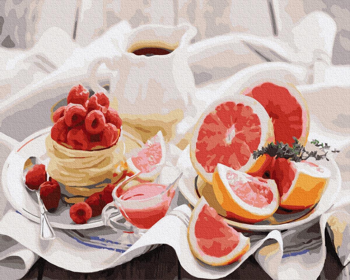 Картина за Номерами Корисний сніданок 40х50см RainbowArt