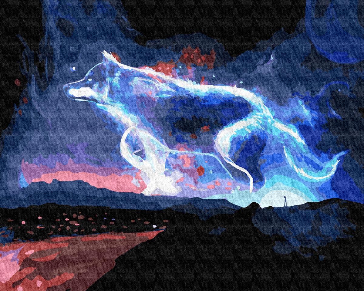 Картина по Номерам Хозяин заполярья 40х50см RainbowArt