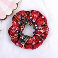 Рождественская резинка для волос 1 шт., фото 5