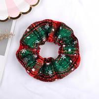 Рождественская резинка для волос 1 шт., фото 2
