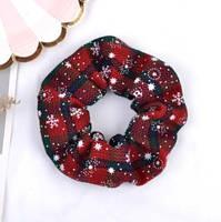 Рождественская резинка для волос 1 шт., фото 4