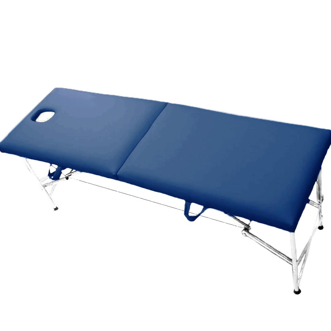 """Складаний масажний стіл """"Комфорт-Автомат з Люверсом"""" Еко-Шкіра 185*60*75"""
