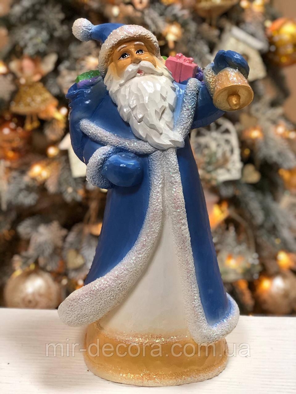 Фигурка Святой Николай с колокольчиком под елку, 41 см