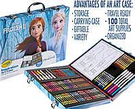 Crayola Inspiration Art Case Frozen 2 Крайола Набор Чемодан художника 100 предметов