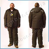 Зимний костюм для рыбалки и охоты SnowMax Gray (элитный), фото 1