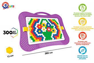 Детская мозаика Технок 300 элементов (4722)