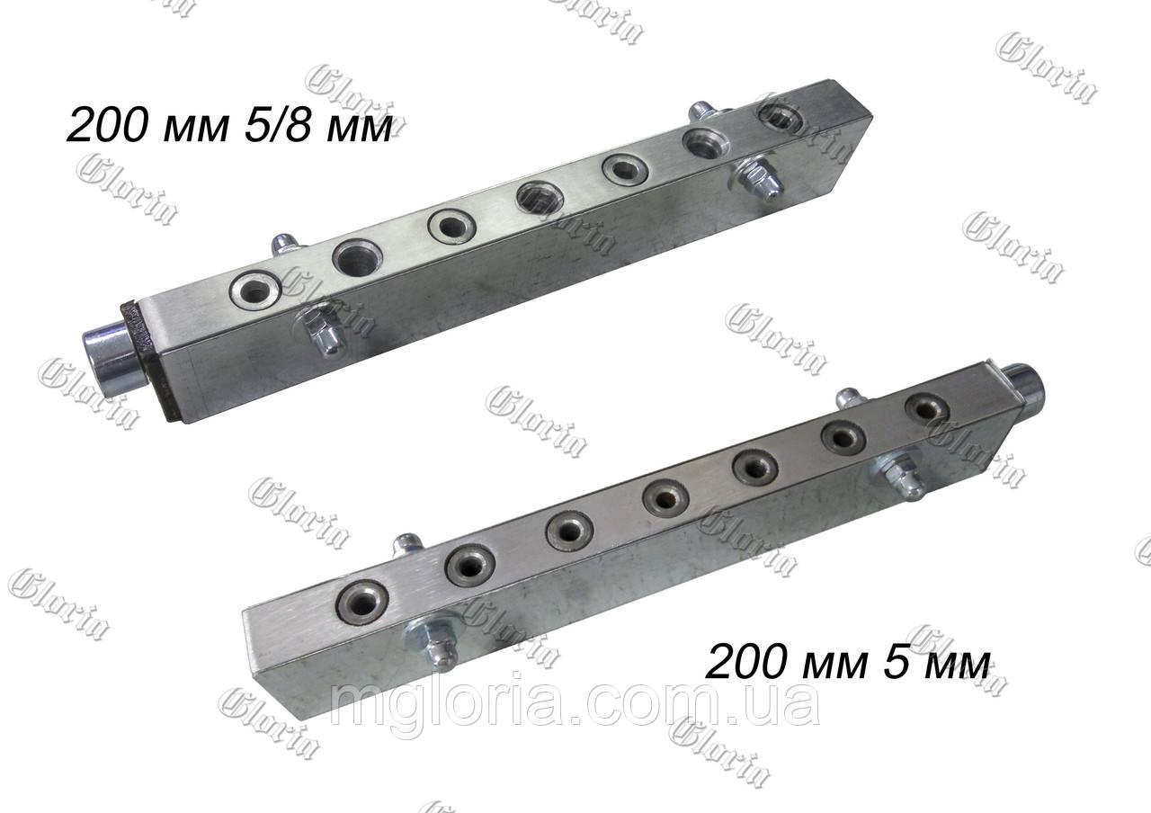 Кондуктор под конфирмат L=200*25 мм