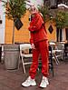 Спортивный женский костюм на флисе спортивного кроя, фото 3