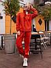 Спортивный женский костюм на флисе спортивного кроя, фото 5