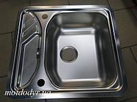 Мойка для кухни из нержавеющей стали Teka Texina 45 полированная (1мм)