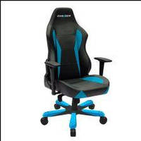 DXRacer WIDE Gaming Chair black/blue  (OH/WY0/NB)