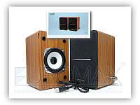Музыкальные колонки компьютерные JT009 пластик, разные цвета, активная акустическая система, колонки на