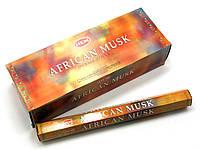 Благовония African musk HEM 20шт/уп. Аромапалочки Африканский Муск (28218)
