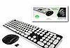 Беспроводная мультимедийная клавиатура HK3960 разные цвета, оптическая лазерная, мышка, клавиатура