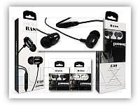 Наушники для телефона E40 с микрофоном, черный, вакуумные, наушники, наушники E40