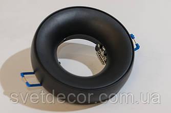 Светильник встраиваемый точечный Feron DL1842 MR-16 GU5.3 алюминиевый черный матовый