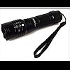 Фонарь аккумуляторный ручной BL 8900-P50 светодиодный, алюминиевый сплав, черный, фонарь, ручной фонарь