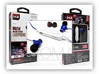 Бездротові Bluetooth-Навушники вакуумні з мікрофоном магніт метал HZ-BTH-8, фото 1
