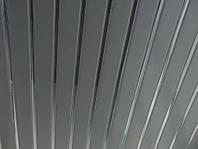 Реечный потолок: металлик с зеркальными вставками, любые размеры
