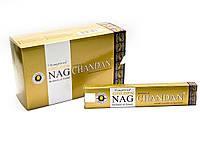 Благовония Golden nag chandan Vijashree 15г. Аромапалочки Сандаловое дерево (26563)