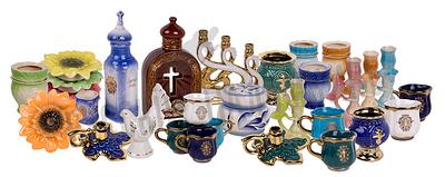 Изделия из керамики и стекла