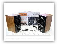 Музыкальные колонки для компьютера F&T SW-2031 пластик, разные цвета, колонки для пк, акустическая система