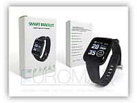 Фитнес браслет Smart W-116 с шагомером, Android, резина, каучук, разные цвета, спортивные часы, фитнес браслет
