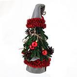 """Искусственная маленькая ель """"Дед Мороз"""", 0,38 м, фото 2"""