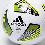 Мяч футбольный для детей Adidas Tiro League ТSВE FS0369 (размер 4), фото 5