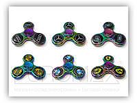 Спиннер для детей Adelia 3007 с лого авто, металлический, микс цветов, спиннеры, игрушка антистресс