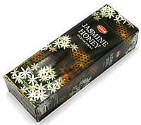 Благовония Jasmine Honey HEM 20шт/уп. Аромапалочки Жасмин, мед (28607)