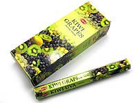 Благовония Kiwi Grapes HEM 20шт/уп. Аромапалочки Киви, виноград (28185)