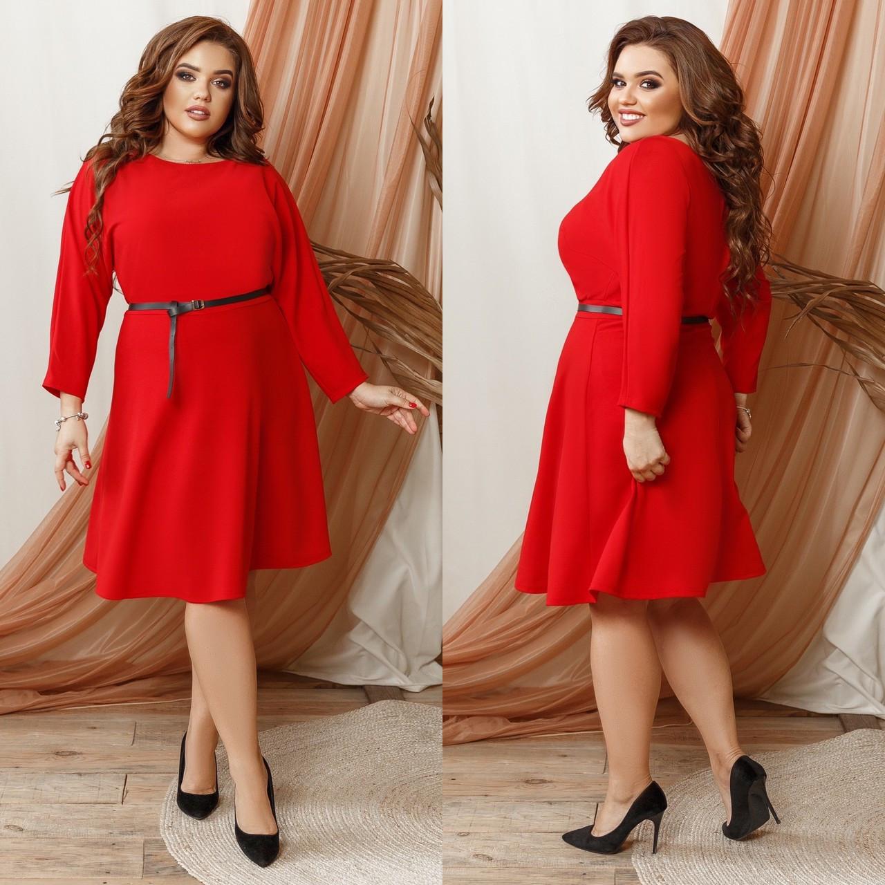 Женское нарядное платье большого размера. Размеры:48/50,52/54,56/58.60/62 +Цвета