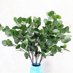 Искусственная ветка Эвкалипт, зеленый 88 см