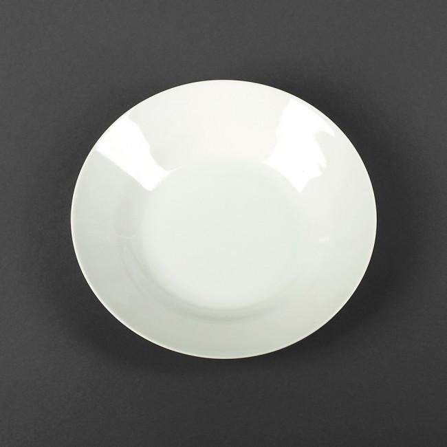 Тарелка суповая полупорционная фарфоровая HLS 20 см (4403)