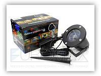 Проектор новогодний Santolina 12 картриджей, с большими цветными рисунками, микс, новогодние проектор,