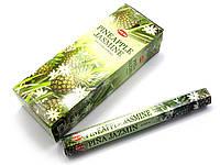 Благовония Pineapple Jasmine HEM 20шт/уп. Аромапалочки Ананас, жасмин (27651)