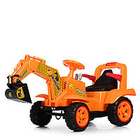Детский легковой электромобиль Трактор с ковшом M 4142L-7