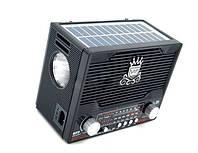 Універсальний радіоприймач, програвач NS-1556S Solar з сонячною панеллю і ліхтарем, різні кольори,, фото 1
