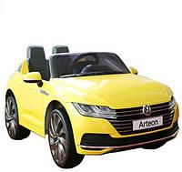 Детский легковой электромобиль Volkswagen Arteon DK-F888 желтый