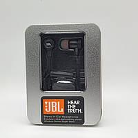 Наушники вакуумные с микрофоном металл JBL E18-JBL mini jack 3.5 мм, , фото 1