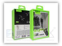 Автомобільний зарядний пристрій BAVIN PC397-V8 2,4 А, 2USB, кабель USB-microUSB, АЗУ, автозарядное BAVIN