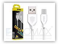 USB кабель для синхронизации устройств USB-microUSB Inkax CK-18-M-V8 1м, USB кабель, зарядный кабель Inkax