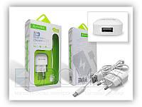 Мережевий зарядний пристрій BAVIN PC755Y-V8 1А, USB, кабель USB-microUSB, СЗУ, зарядний пристрій BAVIN